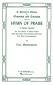 Mendelssohn Hymn of Praise (Lobgesang) SCHIRMER
