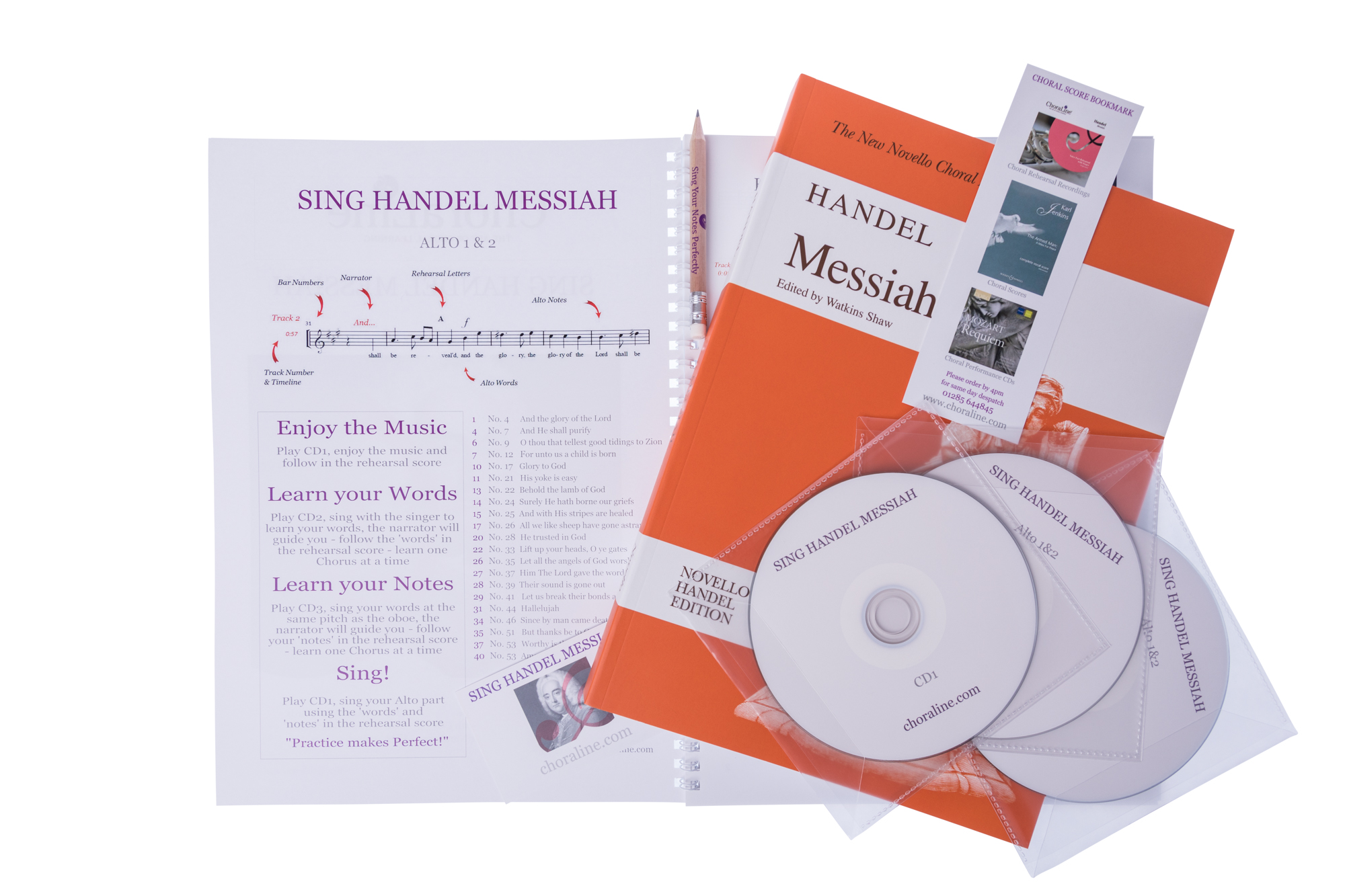 Learn Your Voice Part for Handel Messiah : Choraline